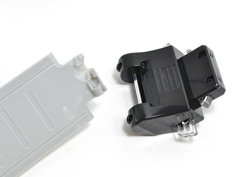 「仮面ライダーDX変身ベルト」の千切れたベルトを修理