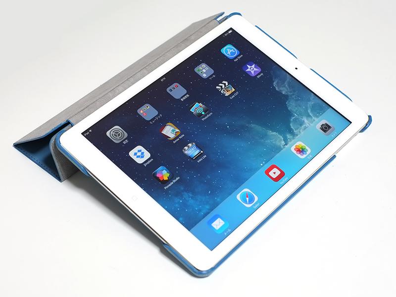 JISONCASE iPad Air用 レザースマートカバーケースを購入