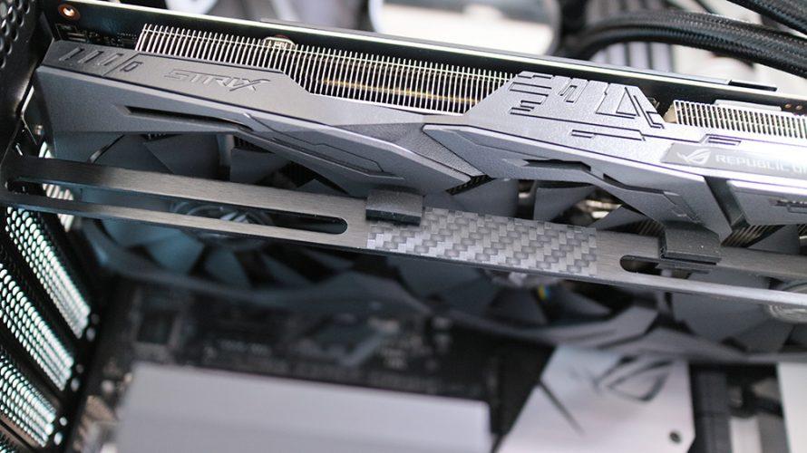 【VGAサポート】GPUサポートでビデオカードを水平にしよう【右肩下がりをまっすぐに】