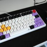 【キーボード】自分的理想のキーボード NiZ Plum 75キー【静電容量無接点方式】