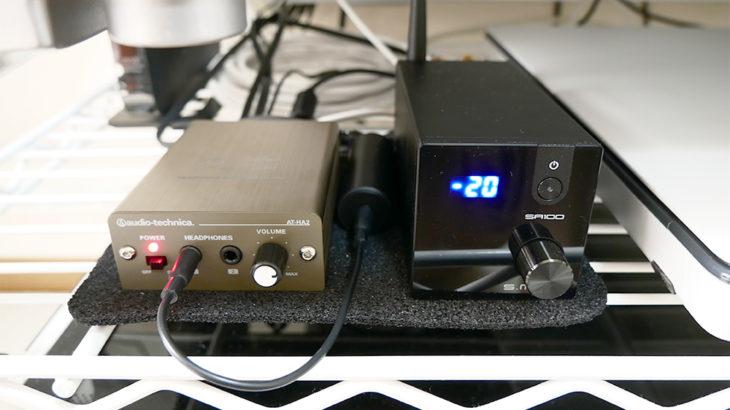 【AT-HA2】TVをパワーアンプに接続するためにヘッドホンアンプを購入【オーディオテクニカ】