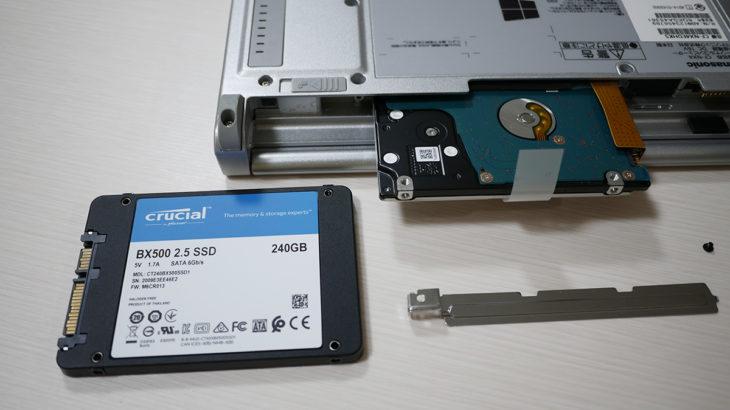 【Let's note】2万円で買ったレッツノートNX4をカスタム【CF-NX4EDHKS】